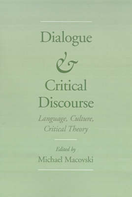 Dialogue and Critical Discourse
