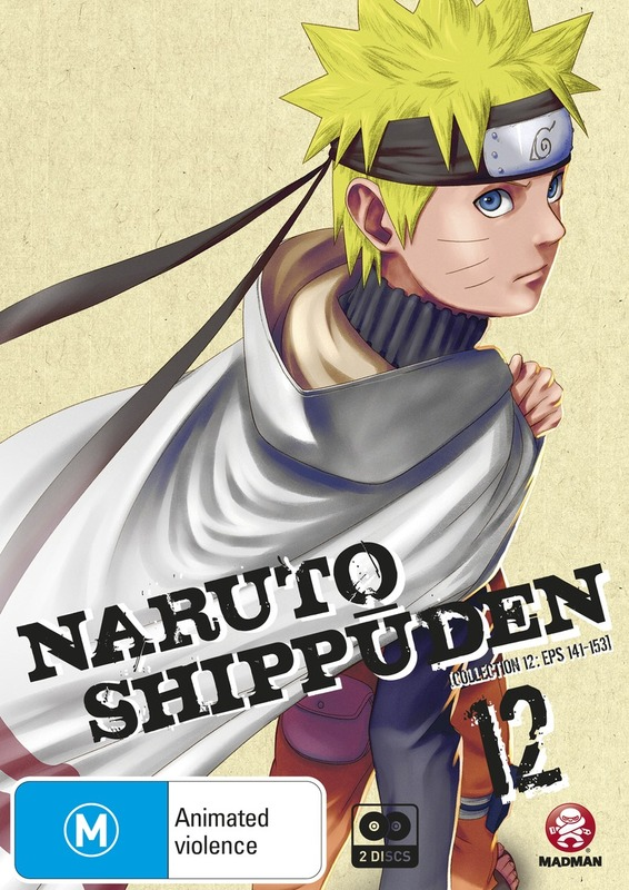 Naruto Shippuden - Collection 12 on DVD