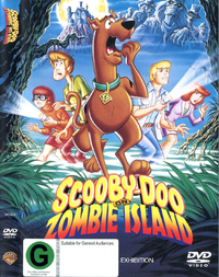 Scooby Doo On Zombie Island on DVD image
