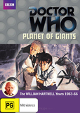 Doctor Who: Planet of Giants DVD