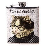 Paw Me Another - Hip Flask