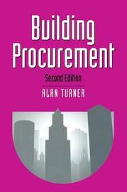 Building Procurement by Alan Turner image
