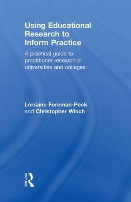 Using Educational Research to Inform Practice by Lorraine Foreman-Peck image