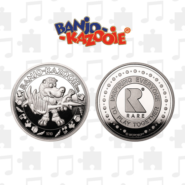Banjo Kazooie: Collectible Coin - Limited Edition