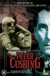 Superstars Of Horror - Vol 1: Peter Cushing Collection (3 Disc Box Set) on DVD