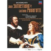 Evening With Joan Sutherland & Luciano Pavarotti, An on DVD
