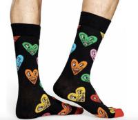 Happy Socks: Keith Haring Sock - Heart (41-46)