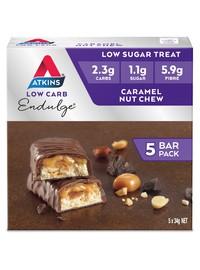 Atkins Endulge Bars - Caramel Nut Chew (Box of 5)