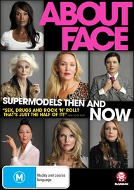 About Face: Supermodels, Then and Now on DVD