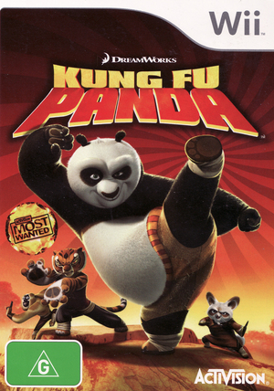 Kung Fu Panda for Wii