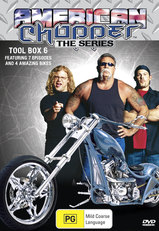 American Chopper: The Series - Tool Box 6 (Discovery Channel) on DVD