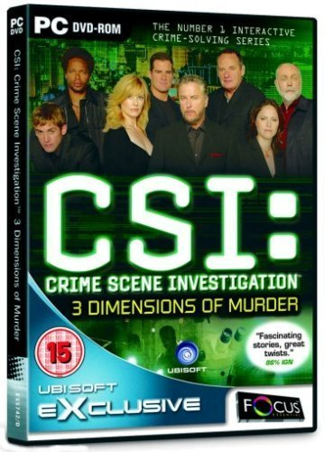 CSI: 3 Dimensions of Murder for PC Games