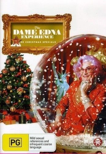 The Dame Edna Experience - The Christmas Specials on DVD