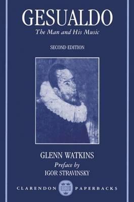 Gesualdo by Glenn Watkins image