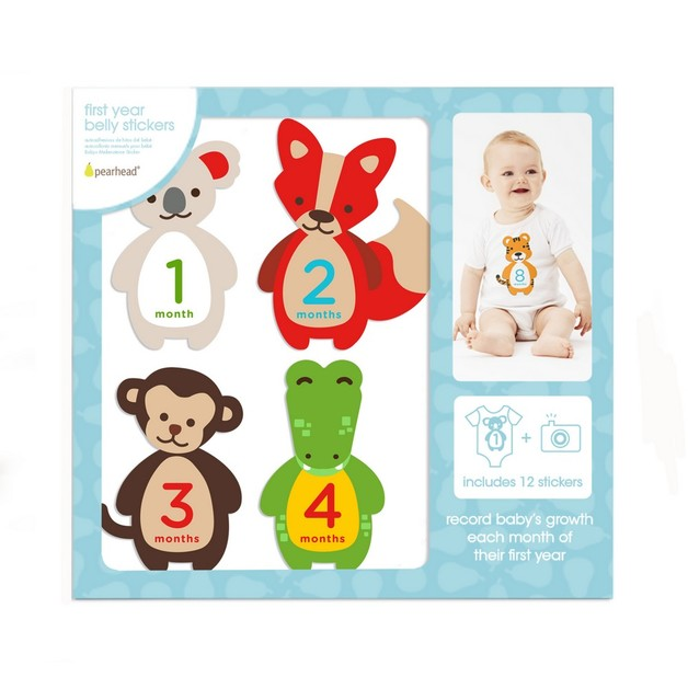 Pearhead - First Year Felt Belly Stickers