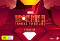Iron Man Armoured Adventures Collector's Set (Limited Release) (4 Disc Set) on DVD
