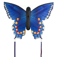 "HQ Kite: Large Swallowtail Blue - 51"" Butterfly Kite"