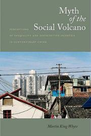 Myth of the Social Volcano by Martin Whyte image