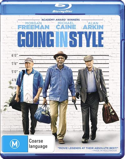 Going In Style on Blu-ray