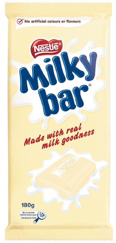 Milkybar - Chocolate Block (12 x 180g)