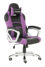 Playmax Gaming Chair Purple and Black for