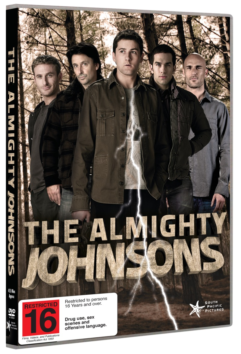 The Almighty Johnsons - Series 1 on DVD image