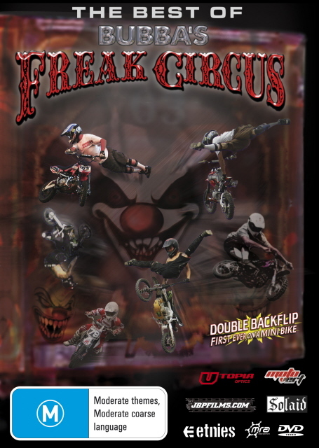 The Best of Bubba's Freak Circus on DVD