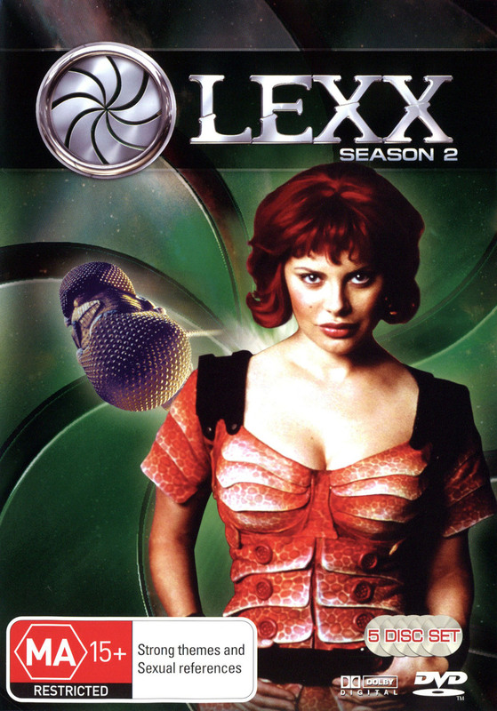 Lexx - Season 2 (5 Disc Set) on DVD