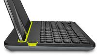Logitech K480 Multi-Device Bluetooth Keyboard (White) image