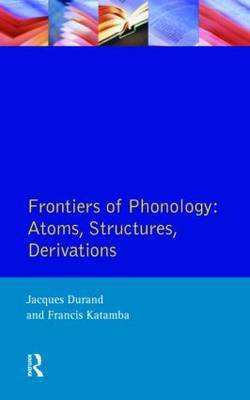 Frontiers of Phonology by Jacques Durand image