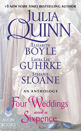 Four Weddings and a Sixpence by Julia Quinn image