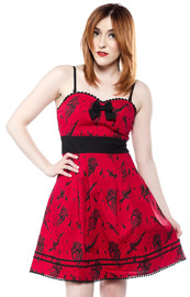 Sourpuss Brokenhearted Party Dress (X-Large)