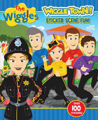 The Wiggles: Wiggle Town! Sticker Scene Fun by The Wiggles image