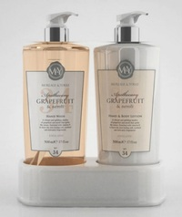 M&Y Hand Wash & Body Caddy - Grapefruit (2x500ml)