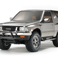 Tamiya: 1/10 Black Isuzu Mu Type X Ltd R/C Model Kit