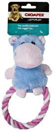 Chomper Puppy Plush Rope Ring Hippo