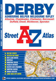 Derby Street Atlas by Geographers A-Z Map Company