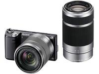 Sony Alpha NEX5NYB Digital Camera with 18-55mm/55-210mm Lens