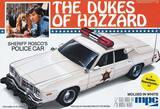 """MPC Dodge Monaco """"Sheriff Rosco's Police Car"""" 1/25 Model Kit"""