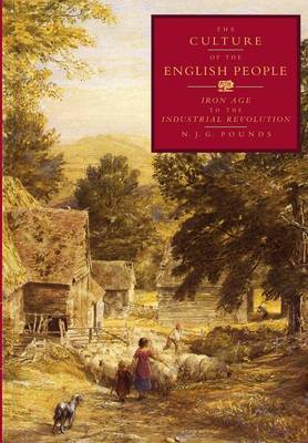 The Culture of the English People by N J G Pounds image