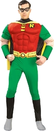 Robin Muscle Chest Deluxe Costume (Medium)