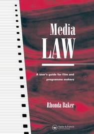 Media Law by Rhonda Baker image