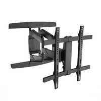 "Brateck Full-Motion TV Wall Mount For 32""-65"" Curved and Flat Panel"