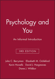Psychology and You by Julia C. Berryman