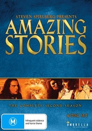 Steven Spielberg Presents Amazing Stories: Season 2 on DVD