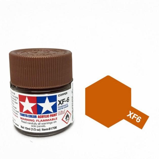 Tamiya Acrylic: Copper (XF6)