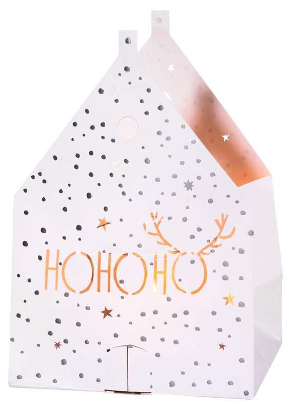 Rader: Ho Ho Ho Paper Light - Bag Card