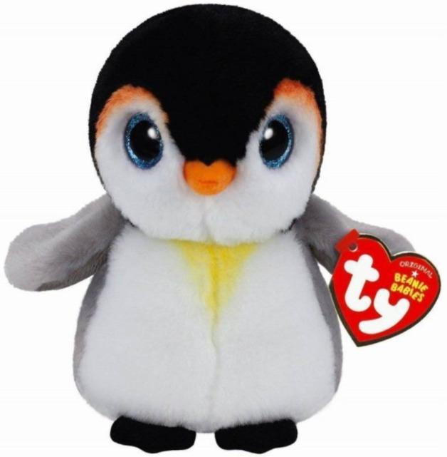 Ty Beanie Babies: Pongo Penguin - Medium Plush