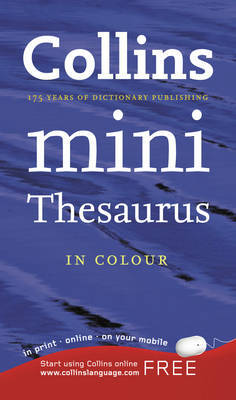 Collins Mini Thesaurus image