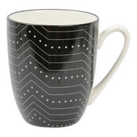 Etta Black and White Subo Mug (8.5 x 11cm)